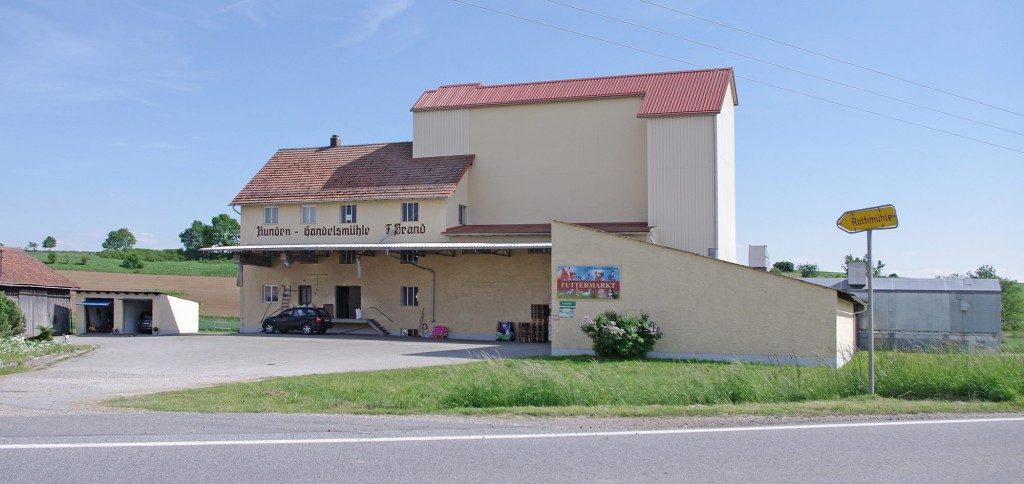 Futtermarkt Brand in Leiblfing